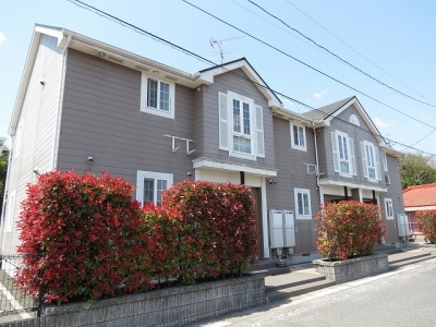 真備町岡田「ポプラーレ」 2DK 賃料¥42,000