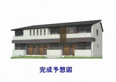 【新築】里庄町新庄「グランシア里庄」 1LDK 賃料¥47,500