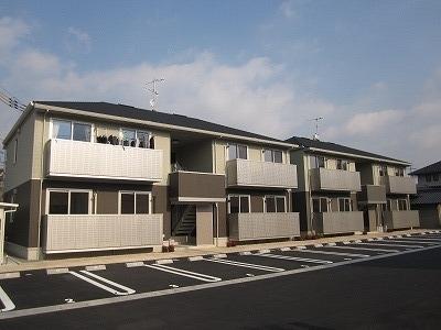 鴨方町六条院東「ラルジュ」 2LDK 賃料¥60,000