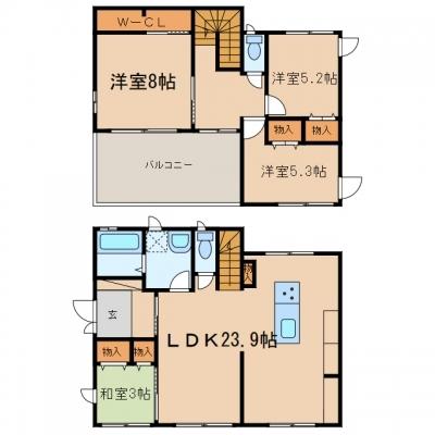 玉島上成「玉島上成戸建て」 4LDK 賃料¥125,000